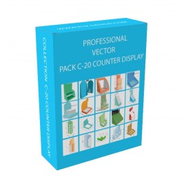 PL-2591 Pack Vector C-20 Counter display