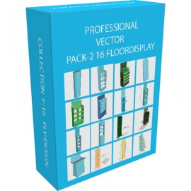 PL-2599 Pack-2 Vector P-15 Floor-display